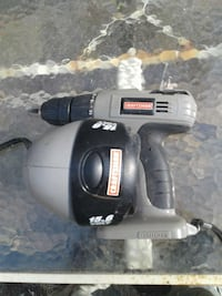 gray-and-black craftsman cordless hand drill and dock charger Syracuse, 13210