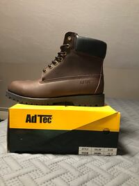 unpaired brown Timberland work boot with box Auburn, 01501