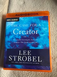 Audiobook cd- the case for a creator  Columbia, 21046