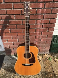 Vintage Japanese Acoustic Guitar