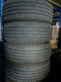 215 55 17 set of 4 KUMHO SENSE 90%TRD  Vaughan, L4L