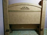 brown wooden headboard and footboard Tampa, 33604