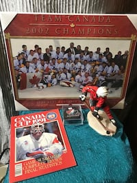 Team Canada 2002 champions poster