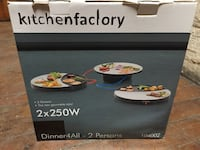 Dinner4All Kitchenfactory ubrukt Oslo, 0566