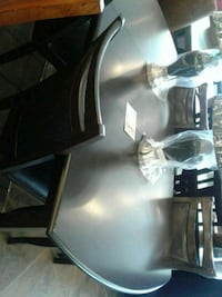 Brown Wood Dining Table with four chairs sale  Phoenix, 85018
