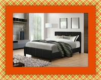 Full platform bed free box and delivery  Temple Hills