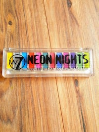 W7 Neon Nights electric eye colour palette Leon, 25123