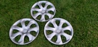 """Selling a set of three 15"""" Mazda 2013 hubcaps. Whitby, L1N 6E2"""