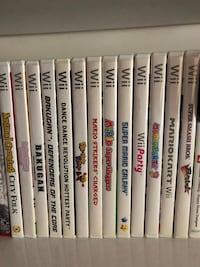Assorted Wii Games Hialeah, 33012