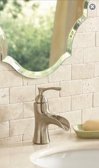 Brushed Nickel Faucet with Pop-up Drain Bethlehem