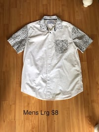 Mens bandana shirt- Lrg Cambridge, N1R 8J4