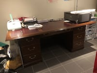 Large office desk/table