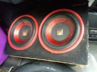 """10"""" subs & amp 400watt sold as is  Poughquag, 12570"""