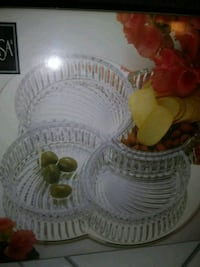 New Divided Crystal Serving Platter Nashville, 37214