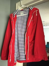 women's red and white long-sleeved dress 514 km