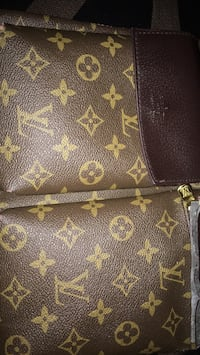 brown monogrammed Louis Vuitton leather bag Toronto, M9L 2K8