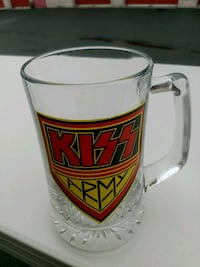 Kiss Army beer mug Manassas, 20109