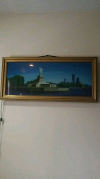 brown wooden framed painting of house New Haven, 06513