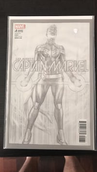Mighty captain marvel 1 sketch variant NM Mississauga, L5W 1X7