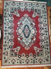 Large 8x11 Persian area rug w/fringe