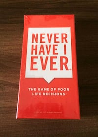 NWT - Never Have I Ever: Game of Poor Life Decisions Toronto, M6M 1V7
