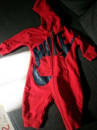 toddler's red and black footie pajama Falls Church, 22044