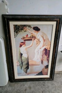 Decorative picture on wood frame Mississauga, L4Z 4A3