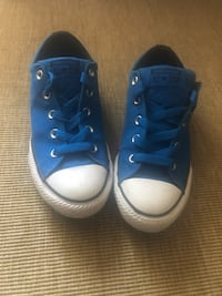 Pair of blue converse all star high-top sneakers Winnipeg, R2M 1S3