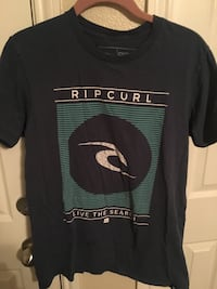 black and green Ripcurl crew-neck shirt Huntsville, 77340