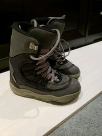 Snowboarding boots Size 7 534 km