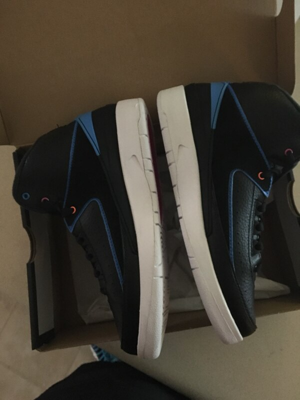 new styles b83d8 612e7 Used Blue and black Jordan retro 2s for sale in Canton