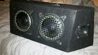 Truck box with two woofers and two tweeters Arlington, 22205