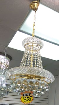New Sealed in Box Lovely Chandelier Light Crystal  Markham, L3R 1N1