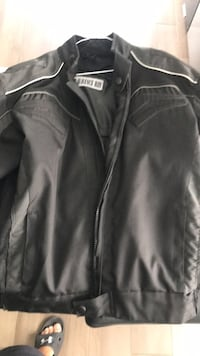 Motorcycle jacket Laurence boy padded size medium .