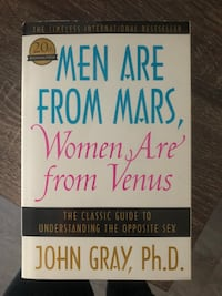 Men are from Mars, Women are from Venus Pointe-Claire, H9R 1H3