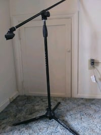 Ultimate Support microphone stand and boom pole