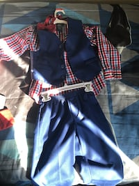 Kids Sweaters, shoes, 4 piece suit and robe