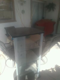 black and gray TV stand Tempe, 85282