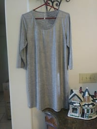 "Shiny Silver/Grey ""New Year's Eve Dress"" Size L Mesa, 85206"