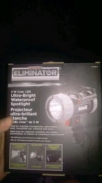 Ultra bright rechargeable spotlight Windsor, N8S 4J3