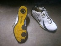 pair of brown-and-white Nike cleats Sacramento, 95825