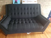 Black/gray couches