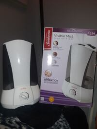 white and black Visible mist humidifier with box Lee's Summit, 64063
