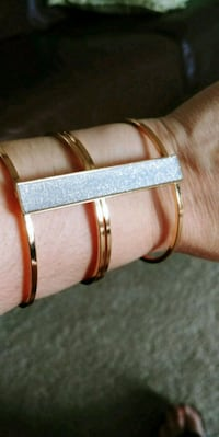 Gold with silver bracelet Lakeshore, N0R 1A0