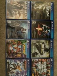 Ps4 games. No scratches,  Westminster, 80234