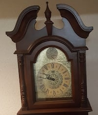 "Piper Tempus Fugit 6'4"" Grandfather Clock MANITOWOC"