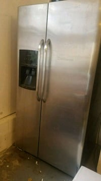 stainless steel side-by-side refrigerator with dis Stamford, 06902