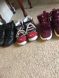 three pairs of Air Jordan basketball shoes Silver Spring, 20906