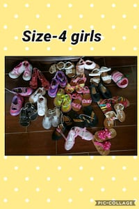 Baby girl shoes size 4 Bakersfield, 93311