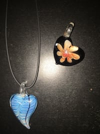 2 Glass bead lamp-work necklace Union Gap, 98903